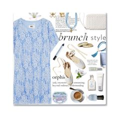 """""""Sunday Brunch"""" by bamaannie ❤ liked on Polyvore featuring Kate Spade, MM6 Maison Margiela, ále by Alessandra, shu uemura, Deborah Lippmann and Occasionally Made"""