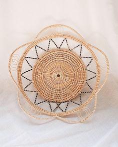 No.18 Basket Wall Hanging Set of 11 | Olive & Iris Basket Tray, Rattan Basket, Wicker, Basket Weaving, Hand Weaving, Baskets On Wall, Woven Baskets, Smooth Walls, Victorian Decor