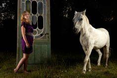 "Marieke Lightband // Photography: Tim Luyten // Photo assistants: Anne De Geyter & Siel De Cordier // Horse wrangler: Marc ""Kork"" Willemssens // Model: Marieke Lightband"