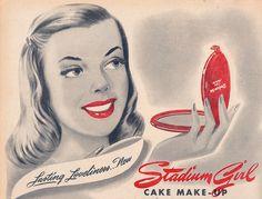 Stadium Girl Cake Make-Up (1946)