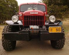 Dodge Power Wagon  nothing like this today