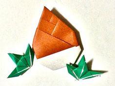 お菓子が入る!【折り紙】うさぎ付きイースターエッグ Easter Egg Origami(カミキィ kamiky) - YouTube