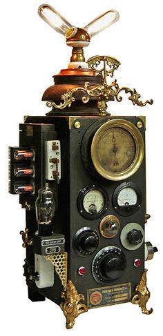 Steampunk pacemaker.