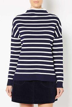 Crepe Stripe Knit