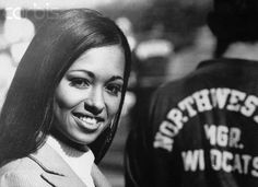 Daphne Maxwell Reid- first African-American woman to be named Homecoming Queen at NWU