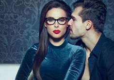 Confident sexy woman with red lips seducing young rich man Millionaire Dating, Sugar Daddy Dating, Kiss My Face, Young And Rich, Make A Man, Flirting, Attraction, Photo Editing, Relationship
