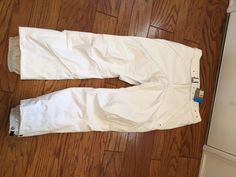 NWT COLUMBIA WOMENS Helsinki WINTER SNOW SKI PANTS New Size Large WHITE #Columbia #Skipants