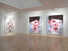 Jenny Saville: Continuum, 980 Madison Avenue, New York, September 2011 Jenny Saville, Gagosian Gallery, Madison Avenue, Painting Inspiration, September, Gallery Wall, New York, Portrait, Image