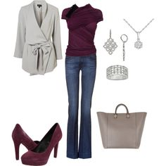 Love the wrappy maroon sweater top ... but it is too expensive.
