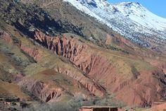 Zwischen Agouti und Imi n'Ifri, anfangs Februar, Hoher Atlas, Marokko Grand Canyon, Nature, Travel, Mountain Range, February, Morocco, Hiking, Viajes, Naturaleza