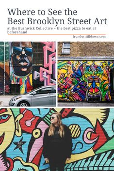 Want to see Bushwick graffiti and street art? Check out my guide which includes a Bushwick street art map that tells you exactly where to go! // PIN FOR LATER // Travel Canada Travel, Travel Usa, Travel Info, Travel Guides, Travel Tips, Best Street Art, Amazing Street Art, York Things To Do, Canada Destinations
