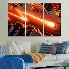 #Flash #Home #Décor #Wall #Art #Kids #Room #bedroom #panel #canvas #large #print  #Superhero #Gift #Movie #poster