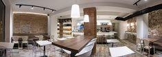 Vista panorámica del interior del local | Reforma Milky Way Coffe & Bar |  Standal #reforma #integral #reformas #locales #comerciales #interiorismo #decoración #restaurante #barcelona