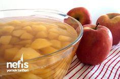 Elma Kompostosu Tarifi Cantaloupe, Food And Drink, Fruit, Vegetables, Desserts, Turkish Dessert, Kitchen, Gourmet, Essen