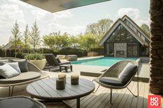 Dièz - Poolhouse met privé spa - Hoog ■ Exclusieve woon- en tuin inspiratie.