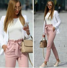 Outfit ideas in blush pink – Just Trendy Girls