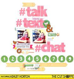 Talk Text & Chat - Scrapbook.com