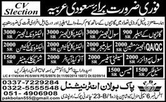 Civil Engineer, Electrical Engineer, Sales Manager, Safety Officer, Auto Cad Operator Abroad Jobs in Saudi Arabia