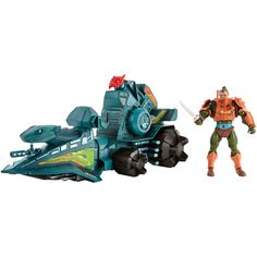 Masters of the Universe Battle Ram with Man-At-Arms from Mattel