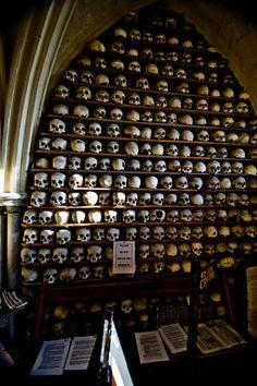 Skulls, St. Leonard's Church, Hythe, Kent