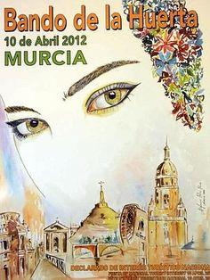 Este jueves se ha presentado el cartel anunciador de una de las fiestas más emblemáticas de Murcia, obra en esta ocasión de Alfonso Pérez Parra