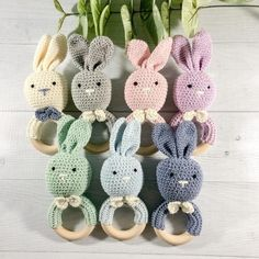 Top 20 Cute Handmade Baby Shower Gifts | Emmaline Baby Handmade Baby Gifts, Handmade Shop, Handmade Toys, Baby Bows, Baby Headbands, Baby Patterns, Crochet Patterns, Wooden Teething Ring, Crochet Bunny