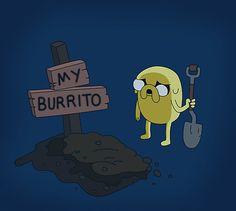 Adventure Time - Jake - Burrito