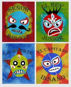 Luchador Collection 8x10 Set