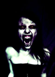 "Sharp teeth. ""Woman of Dark Desires"" by the-art-of-matth on DeviantArt. (photomanipulation)"