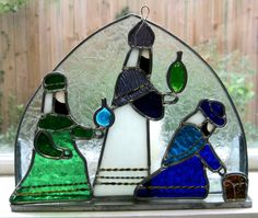 stained glass candle picture - Google Search