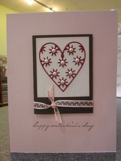 Memory Box- Valentine's New Releases 2012 by Craft Fancy, via Flickr  serafine heart
