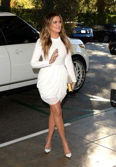 December 11, 2013 -Khloe Kardashian arriving to THR's 22nd Annual Women In Entertainment Breakfast.