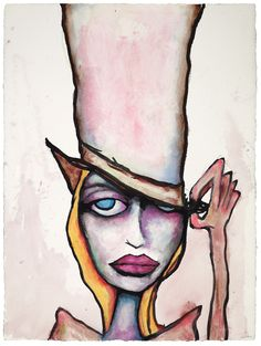 """It's not the hat, it's the eyes 