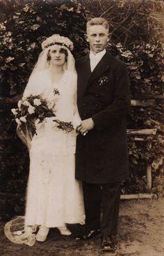 Hochzeit von Werner und Lisbet Seeger am 11. Juni 1931 in Gollnow/Pommern