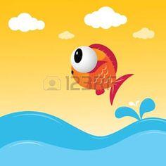 O peixe que queria voar! - Contos para criança ler, ouvir e sonhar!