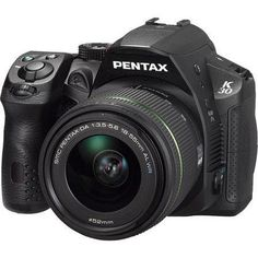 Pentax K-30 Digital SLR Camera with.