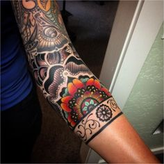 #Tattoo 30 Traditional Paisley Tattoo Designs - Tenderness, Beauty & Originality , Click to See More...