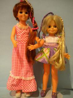 Crissy Twirly Beads & Velvet Swirly Daisies (1974)