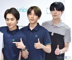 Xiumin, Baekhyun, Sehun