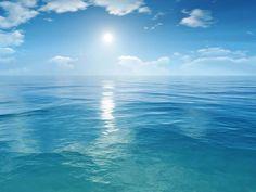 Ocean 3d Art Wallpaper Design 1024x768 Pixel