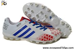 Low Price White/Blue/Red Adidas Predator Lethal Zones II AG For David Beckhams Retirement Game 2013 Football Shoes For SaleFootball Boots For Sale