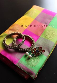 Colorful Kancheepuram Sarees UK. London Bridal sarees for cheap. Wedding sarees in UK. https://www.facebook.com/inspiredsarees https://www.instagram.com/inspiredsarees/