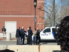 3:50 PM–Today Outside The Courthouse Photo taken by HuffPosts Chris Kirkham: