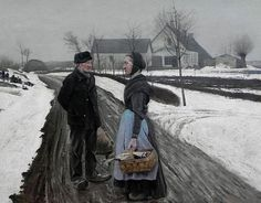 Laurits Andersen Ring (1854-1933) A Short Stay