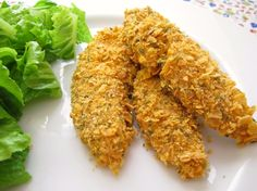 Healthy chicken fingers