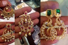 Fascinating New Model Chandbalis | Jewellery Designs