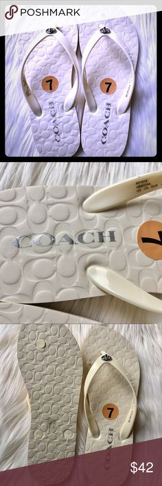 ✨Coach Sandals ✨Size 7 ✨ Brand new!! Spring is here!! ✨ Coach Shoes Sandals