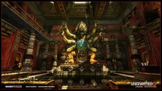 ArtStation - Uncharted 2 - Temple, David Baldwin