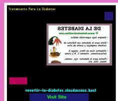 Tratamiento Para La Diabetes 195722 - Aprenda como vencer la diabetes y recuperar su salud.