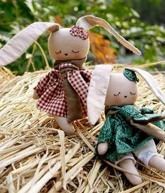 Quirky Artist Loft: Kawaii Bunny Doll - Free Pattern
